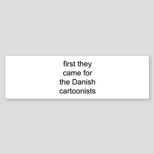 first they came Bumper Sticker