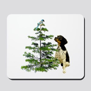 Bird Dog Tree Mousepad