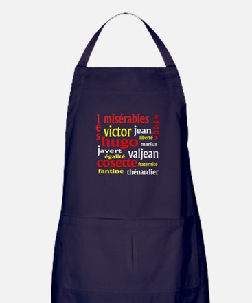 Les Miserables Apron (dark)