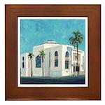Ohr Shalom Synagogue Framed Tile