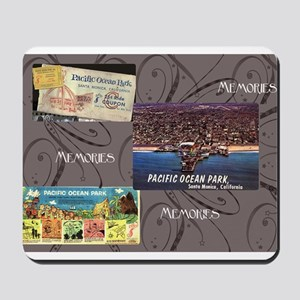 Pacific Ocean Park Memories Mousepad