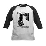 Catio Tour Kids Baseball Jersey