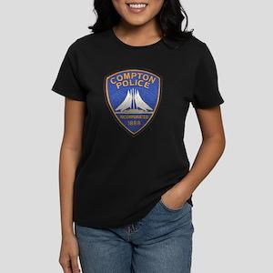 Compton Police Last Style Women's Dark T-Shirt