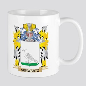 Schwartz Family Crest - Coat of Arms Mugs