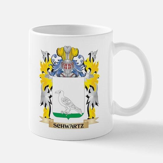 Schwartz Family Crest - Coat of Arms Mugs