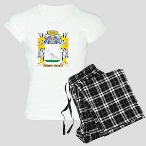 Schwartz Family Crest - Coat of Arms Pajamas