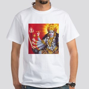 Goddess Kali: Hinduism: White T-Shirt