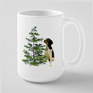 Bird Dog Tree Large Mug