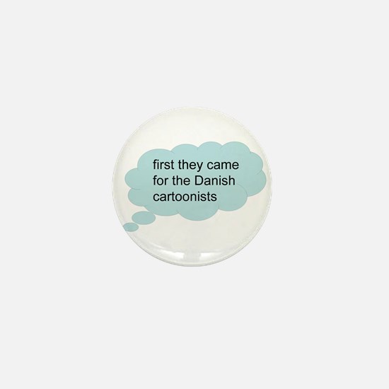 first they came - bubble Mini Button