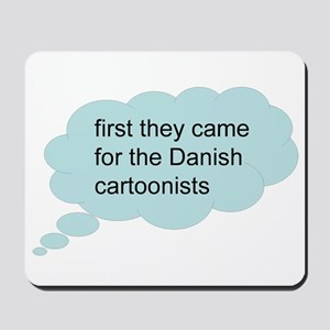 first they came - bubble Mousepad