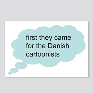 first they came - bubble Postcards (Package of 8)