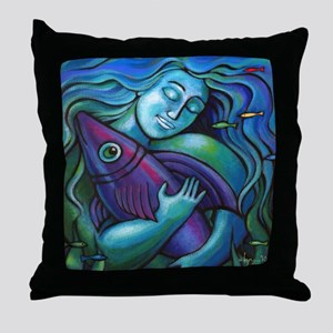 Adoring My Dream Throw Pillow