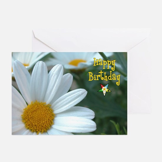 OES Happy Birthday Greeting Cards (Pk of 20)