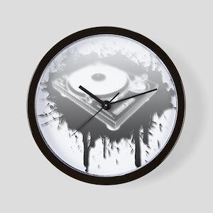 Graffiti Turntable Wall Clock