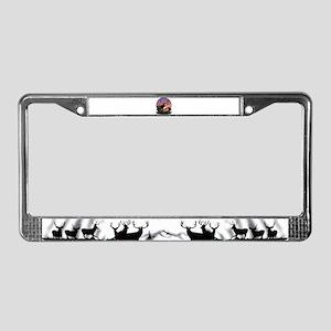 Monster Muley License Plate Frame
