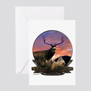 Monster Muley Greeting Card