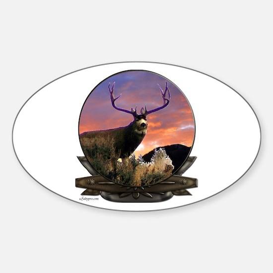 Monster Muley Sticker (Oval)