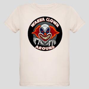 Evil Clown Organic Kids T-Shirt