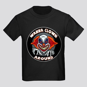 Evil Clown Kids Dark T-Shirt