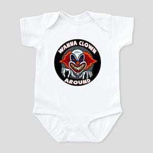 Evil Clown Infant Bodysuit