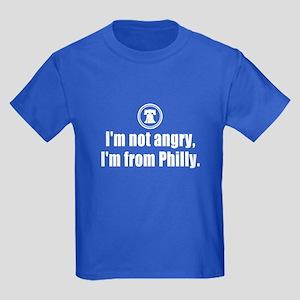 I'm from Philly Kids Dark T-Shirt