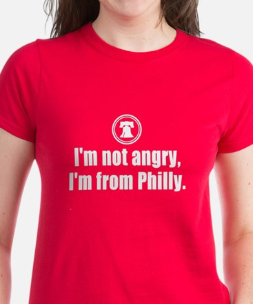 I'm from Philly Women's Dark T-Shirt