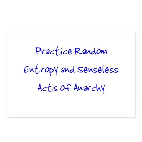 Entropy and Anarchy Postcards (Package of 8)