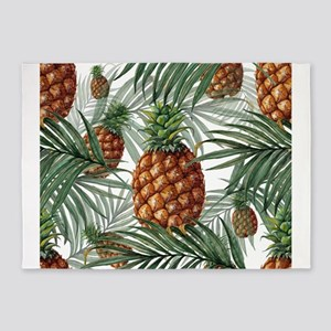 King Pineapple (full) 5'x7'Area Rug