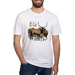 Elk Hunter Fitted T-Shirt