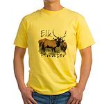 Elk Hunter Yellow T-Shirt