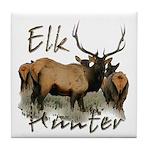 Elk Hunter Tile Coaster