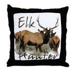 Elk Hunter Throw Pillow