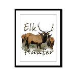 Elk Hunter Framed Panel Print