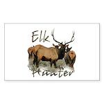 Elk Hunter Sticker (Rectangle 10 pk)