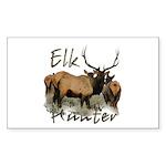 Elk Hunter Sticker (Rectangle 50 pk)