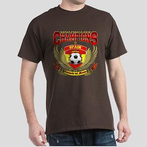 Spain 2010 World Soccer Champions Dark T-Shirt