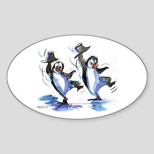 dAnCiNg PeNgUiNs Oval Sticker