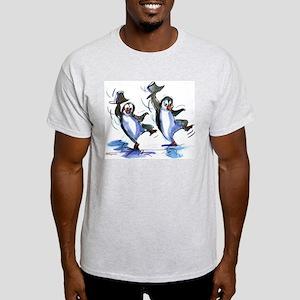 dAnCiNg PeNgUiNs Ash Grey T-Shirt