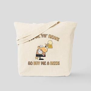 40th Birthday Beer Tote Bag