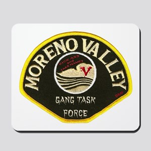 Moreno Valley Gang Task Force Mousepad