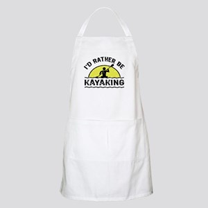 I'd Rather Be Kayaking Apron