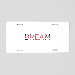 Bream Aluminum License Plate