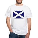 Scotland The Brave white t-shirt