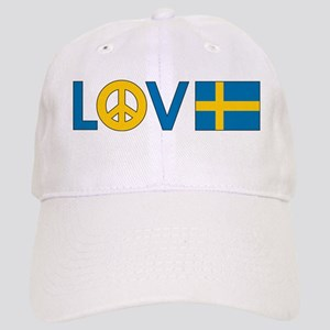 Love Peace Sweden Cap