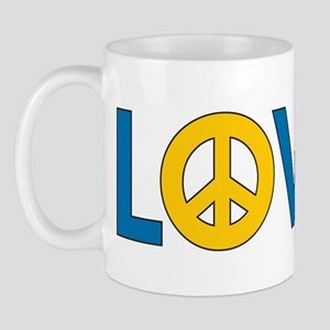 Love Peace Sweden Mug