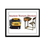 Ancient Torture Devices-1 Framed Panel Print