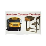 Ancient Torture Devices-1 Rectangle Magnet (10 pac