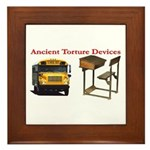 Ancient Torture Devices-1 Framed Tile