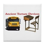 Ancient Torture Devices-1 Tile Coaster
