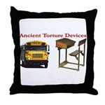 Ancient Torture Devices-1 Throw Pillow